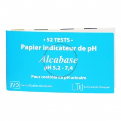 A Papier indicateur pH - 52 bandelettes - Dr Theiss