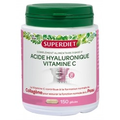 Acide Hyaluronique 120mg - 150 gélules Super Diet