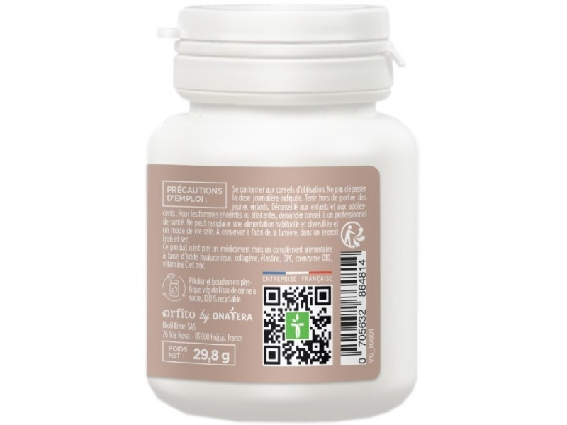 Acide hyaluronique complexe 150 - 60 gélules - Orfito