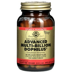 Advanced Multibillion Dophilus - 60 gélules Solgar