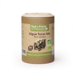 Algue fucus Eco-responsable - 90 gélules  - Nat & Form