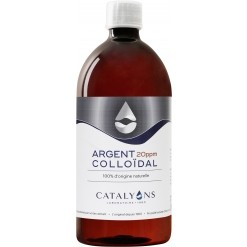 Argent colloïdal 20 ppm - 1 litre - Catalyons Laboratoire