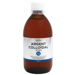 Argent colloïdal 20 ppm - 500 ml Orfito