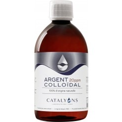 Argent Colloïdal 20PPM - 500ml - Catalyons Laboratoire