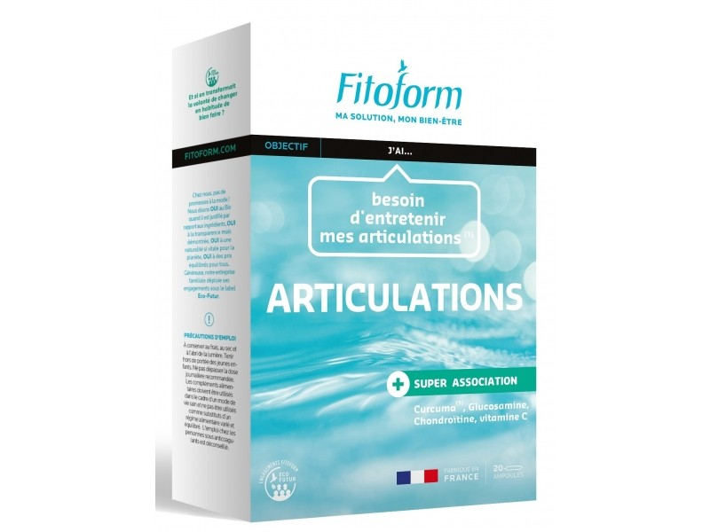 Articulations - 20 ampoules - Fitoform
