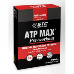 ATP Max pré-workout - 30 gélules STC Nutrition
