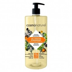 Bain et douche mandarine orange Bio - 1 L Cosmo Naturel