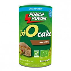 Bio Cake Noisette - 400 g - Punch Power
