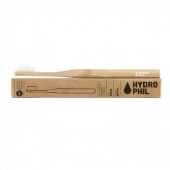 Brosse à dents en bambou naturel medium - 1 unités Hydrophil