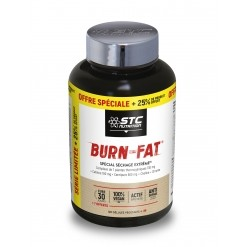 Burn Fat - 120 Gélules + 25% offert STC Nutrition