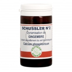 Calcium phosphoricum Gingembre - 60 gelules Vecteur Energy