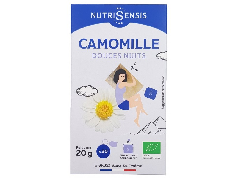 Camomille Bio - 20 sachets - Nutrisensis