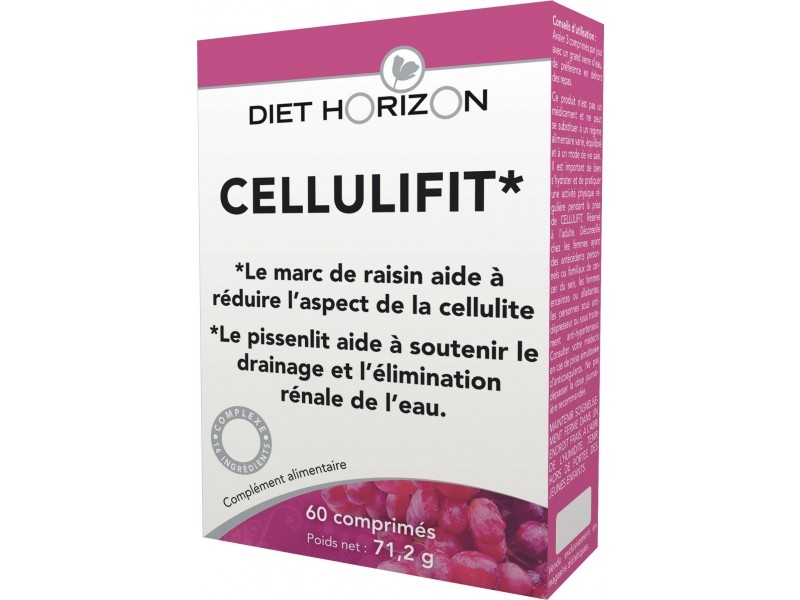 Cellulifit - 60 comprimés - Diet Horizon