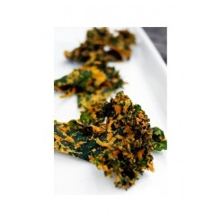 Chips de kale Red Cheezy, paprika doux Bio - 35 g - Happy Crulture