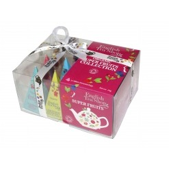 Coffret collection Super Fruits Bio - 12 sachets English Tea Shop