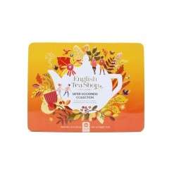 Coffret metallique Super Goodness Collection Bio -36 sachets English Tea Shop