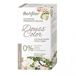 Coloration Douss Color 104 châtain naturel - 131ml  Beliflor