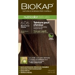 Coloration nutricolor delicato 6.06 blond foncé savane - 140 ml