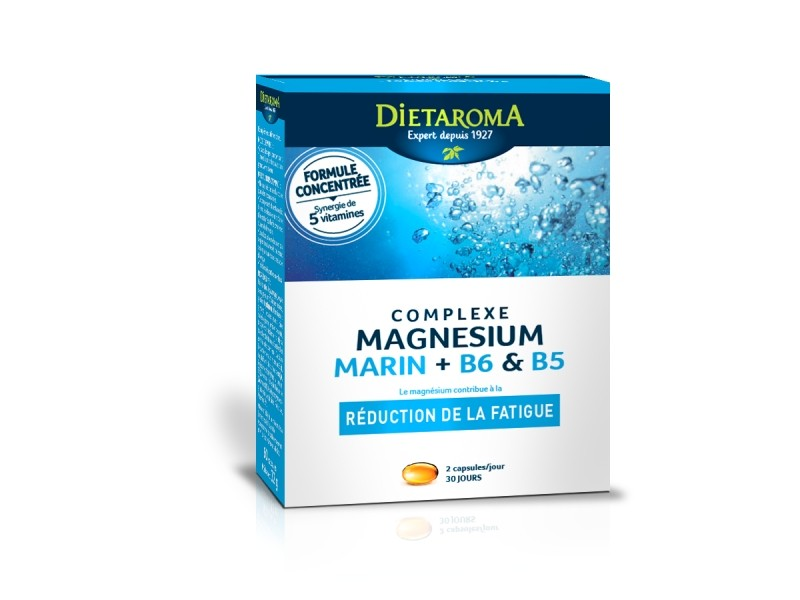 complexe magnesium marin b6 60 capsules dietaroma. Black Bedroom Furniture Sets. Home Design Ideas