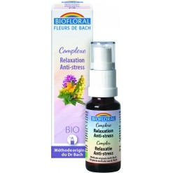 Complexe n°9 relaxation anti-stress Bio - 20 ml  Biofloral