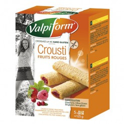 Crousti fruits rouges Sans gluten - 5*125 g Valpiform