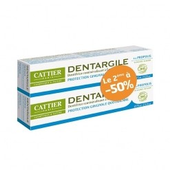 Dentargile propolis Protection des gencives Duo -2*75 ml Cattier