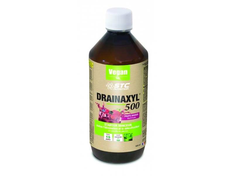 Drainaxyl 500 Fruits Rouges - 500ml - STC Nutrition