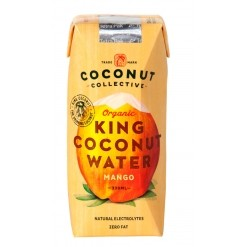 Eau de coco King Coconut Mangue Bio - 33 cl Coconut Collective