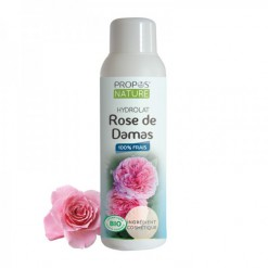 Eau florale rose de Damas Bio - 100 ml