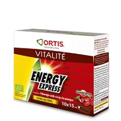 Energy express guarana Bio - 150ml Ortis