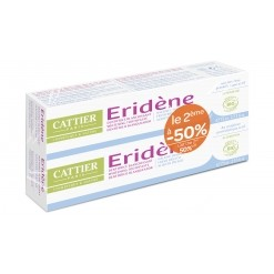 Eridène dentifrice blanchissant duo - 150 ml Cattier