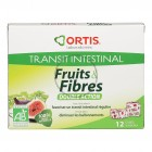 Fruits & Fibres double action Bio - 12 cubes - Ortis