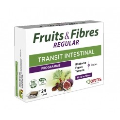 Fruits & Fibres REGULAR - 24 unités Ortis