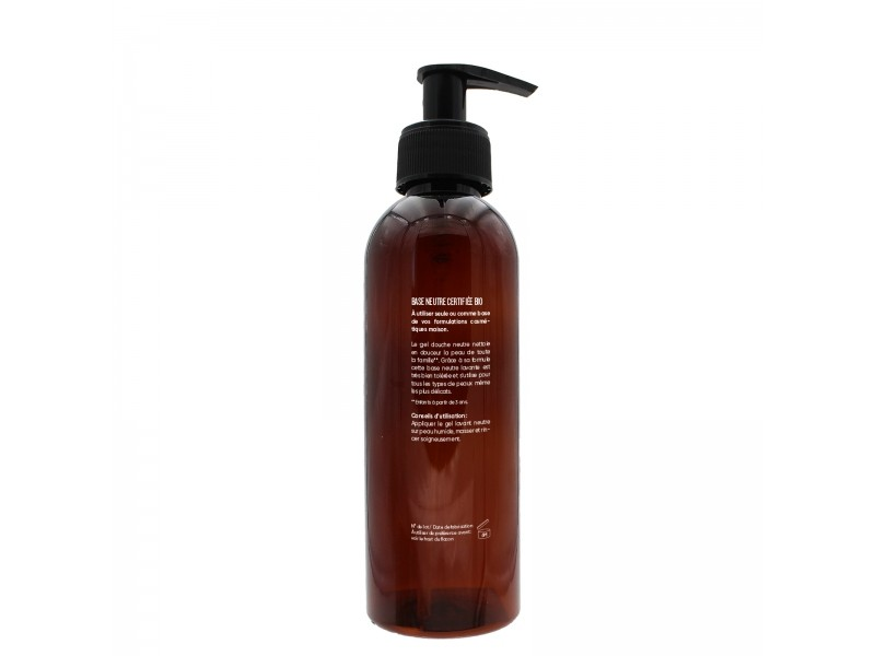 Gel douche neutre Bio - 250 ml - Cosmesana