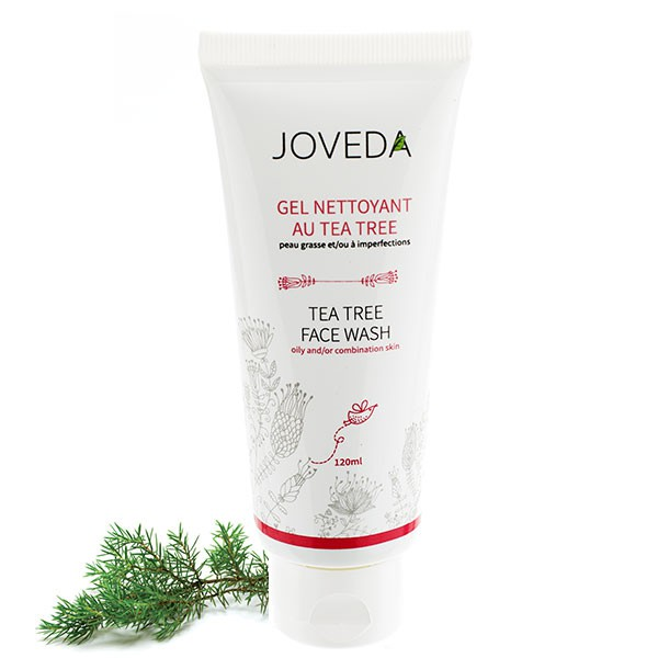 Gel Nettoyant au Tea Tree - 120 ml - Joveda
