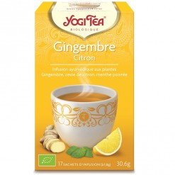Gingembre Citron - 17 sachets Yogi Tea