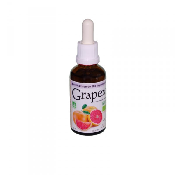 Grapex Bio 78% Flacon verre - 50 ml  - Grapex