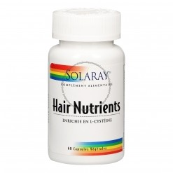 Hair nutrients - 60 capsules Solaray
