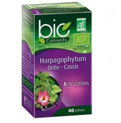 Harpagophytum Ortie Cassis - 40 gélules