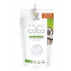 Huile de coco vierge Bio - 450 ml Comptoirs & Compagnies