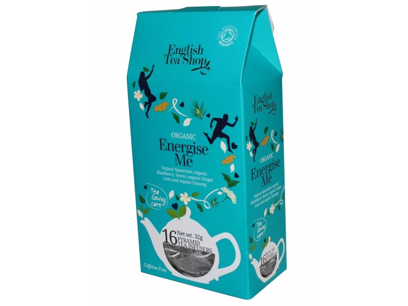 Infusion Energise Me Bio - 16 sachets pyramide - English Tea Shop