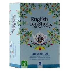 Infusion Energise Me Bio - 20 sachets - English Tea Shop
