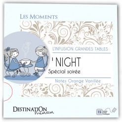 Infusion Moments O'Night Bio - 15 sachets  Destination Bio