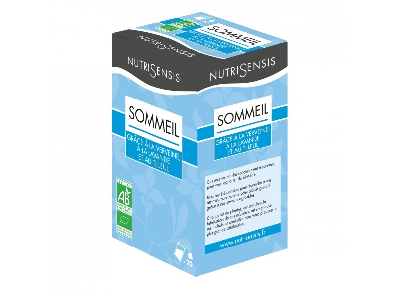 Infusion sommeil Bio - 20 sachets  - Nutrisensis
