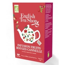 Infusion Spiced fruits rouges Bio - 20 sachets - English Tea Shop