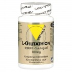 L-Glutathion Sublingual 100 mg - 30 comprimés Vitall+
