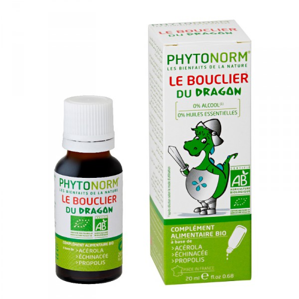 Le bouclier du Dragon - 20ml - Phytonorm