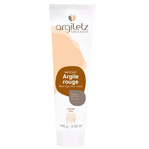 Masque Argile Rouge - 100 ml - Argiletz