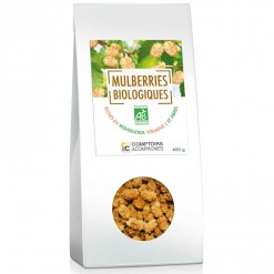 Mulberries (mûres blanches) Bio - 400 g Comptoirs & Compagnies
