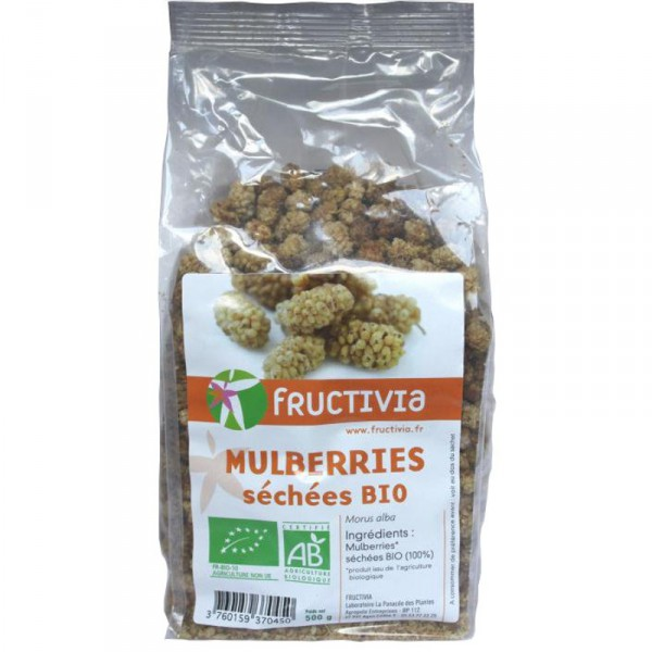 Mulberries (mûres blanches) Bio - 500 g - Fructivia